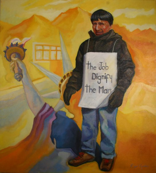 Gavilano Painting